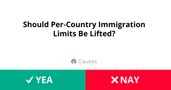 Should Per-Country Immigration Limits Be Lifted? - H R  1044 - 116th